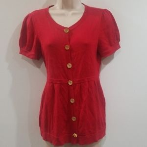 Juicy Couture women's Ruby red sweater size medium